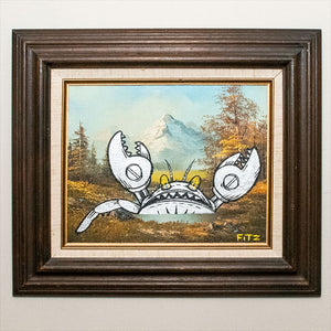 The Giant Robot Crab! - Original Artwork by Fitz