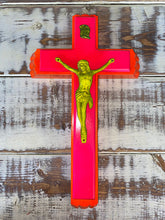 "Load image into Gallery viewer, Neon Jesus - 8"" x 13.5"""