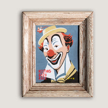"Load image into Gallery viewer, Resting Bozo Face - 9"" x 11"""