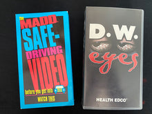 Load image into Gallery viewer, Vintage Drivers Education VHS Tapes