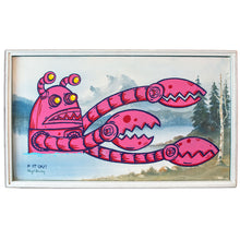 "Load image into Gallery viewer, Pink I Robot - 31"" x 19"""