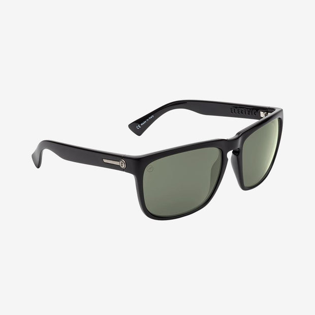 Electric Sunglasses Knoxville XL Polarized Gloss Black/Polarized Grey