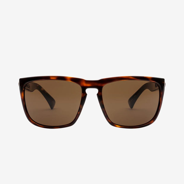 Electric Sunglasses Knoxville XL Polarized Gloss Tort/Polarized Bronze
