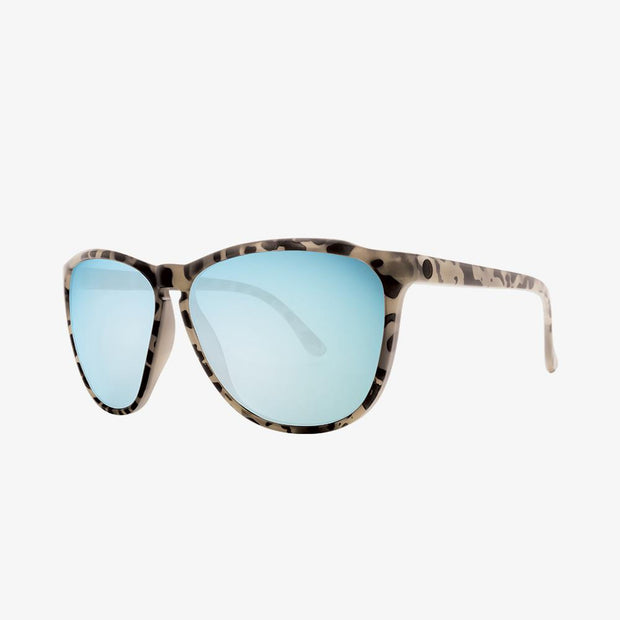 Electric Sunglasses Encelia Nude Tort/Sky Blue Chrome