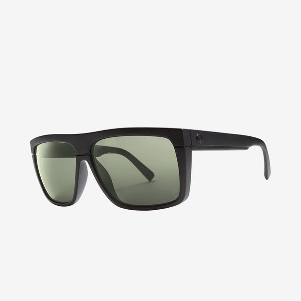 Electric Sunglasses Black Top Polarized Matte Black/Polarized Grey