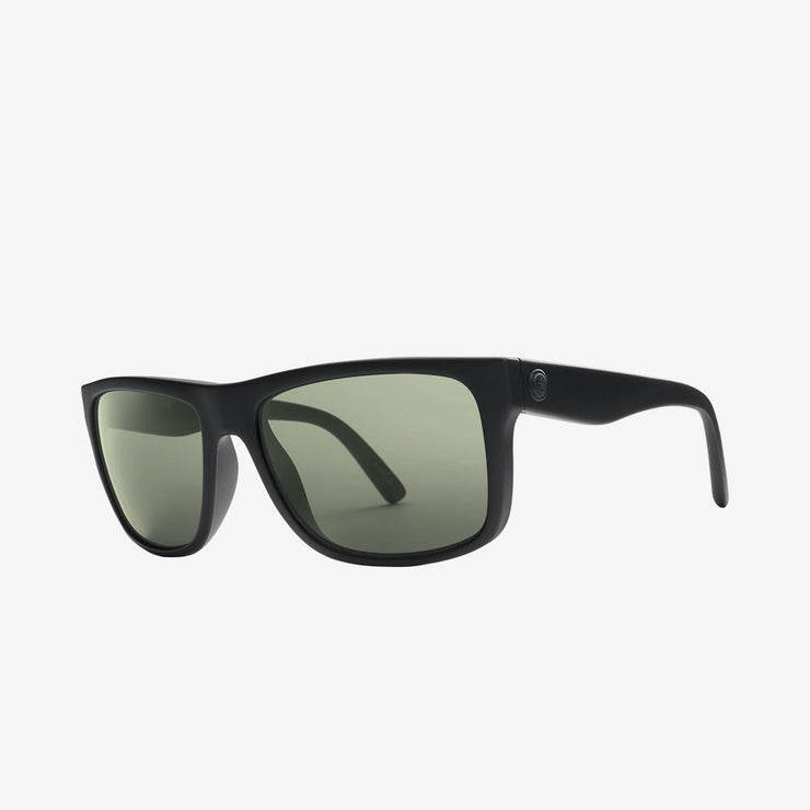 Electric Sunglasses Swingarm Polarized Matte Black/Polarized Grey