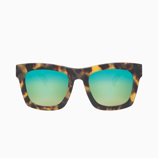 Electric Sunglasses Crasher Pineapple Tort/Green Chrome