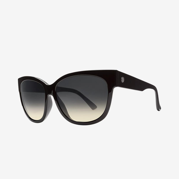 Electric Sunglasses Danger Cat Gloss Black/Black Gradient