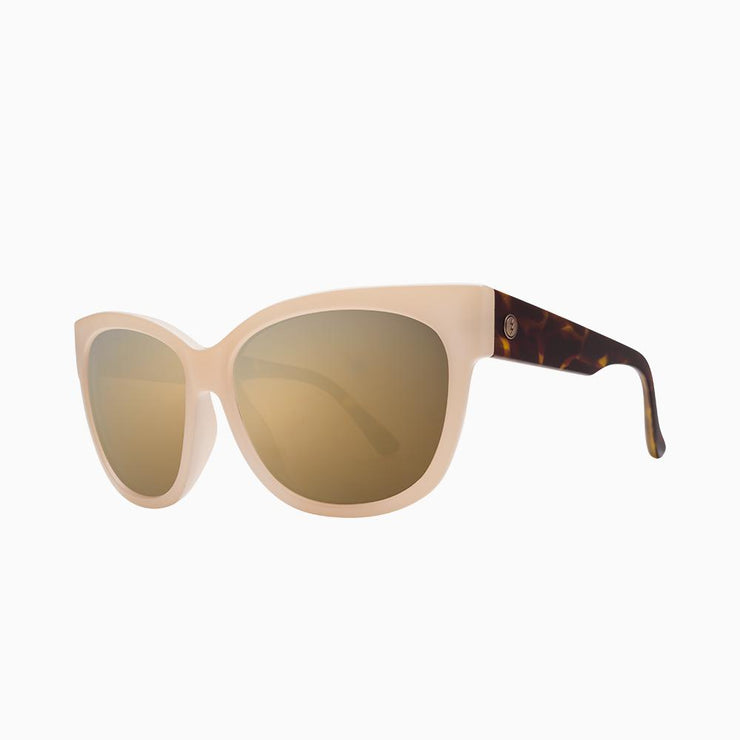 Electric Sunglasses Danger Cat Nude Tort/Grey Gold Chrome