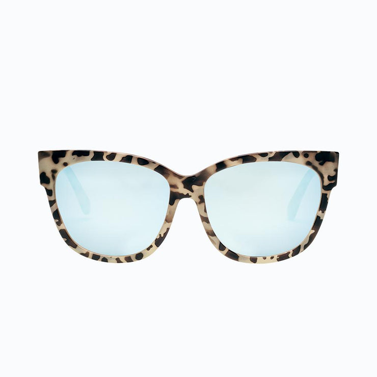 Electric Sunglasses Danger Cat Nude Tort/Sky Blue Chrome
