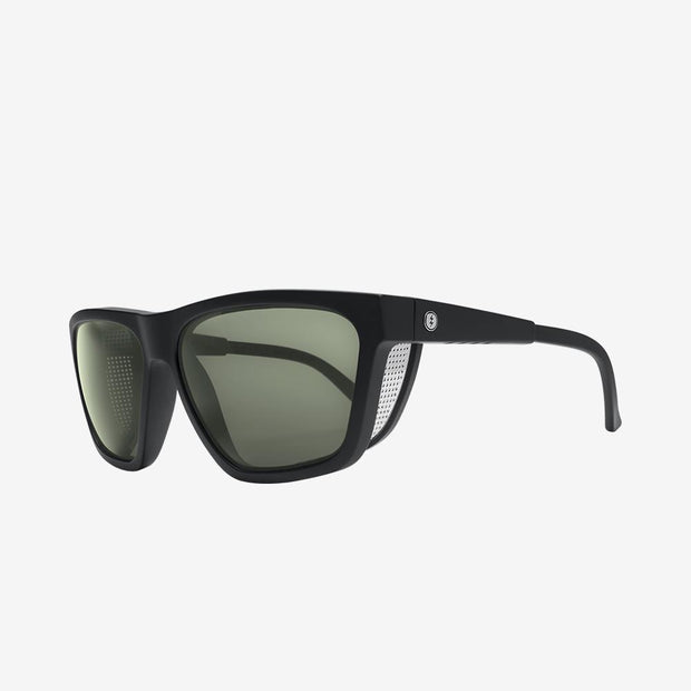 Electric Sunglasses Road Glacier Polarized Plus Matte Black/Grey Polarized Plus