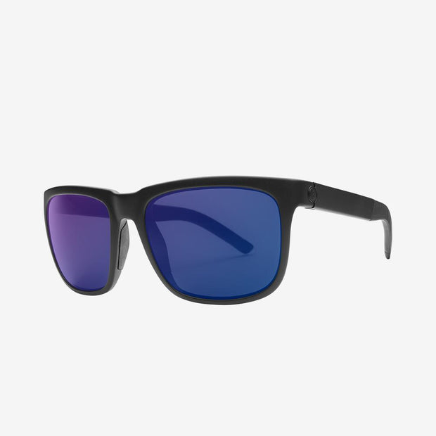 Electric Sunglasses Knoxville S Polarized Plus Matte Black/Blue Polarized Plus
