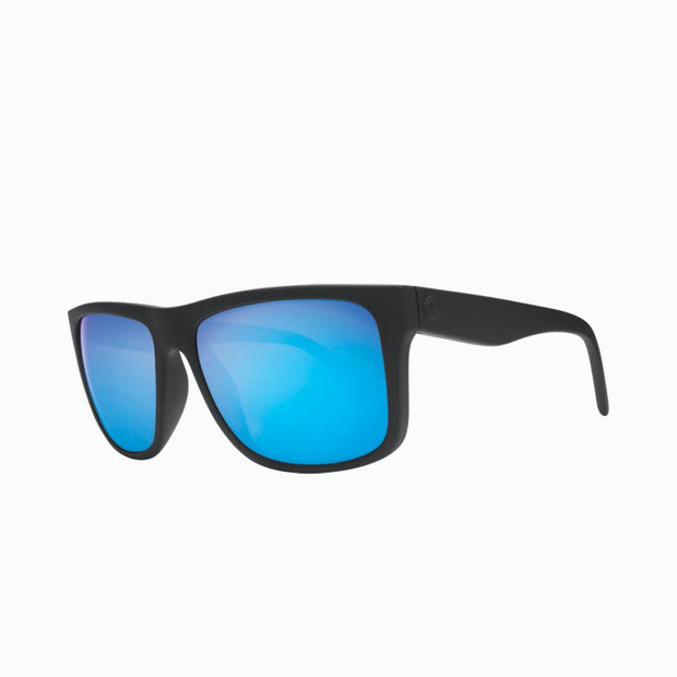 Electric Sunglasses Swingarm XL Matte Black/Grey Blue Chrome