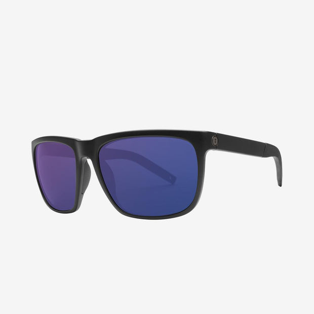 Electric Sunglasses Knoxville XL S Polarized Plus Matte Black/Blue Polarized Plus
