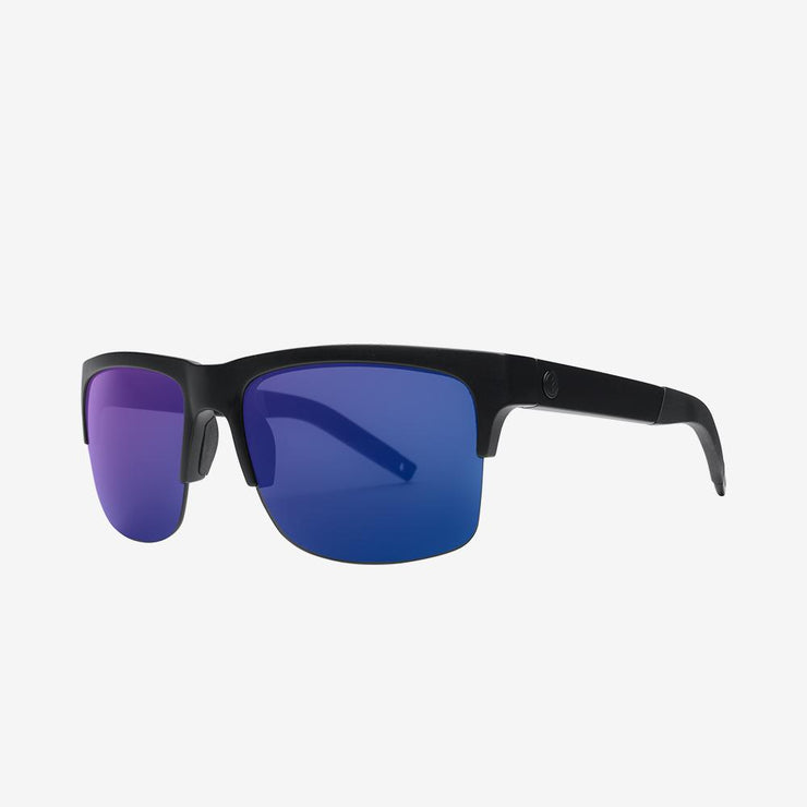 Electric Sunglasses Knoxville Pro Polarized Plus Matte Black/Blue Polarized Plus