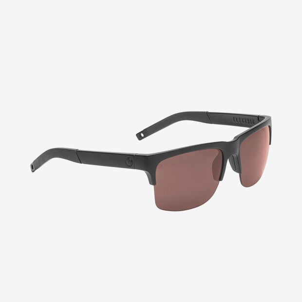 Electric Sunglasses Knoxville Pro Polarized Plus Matte Black/Rose Polarized Plus