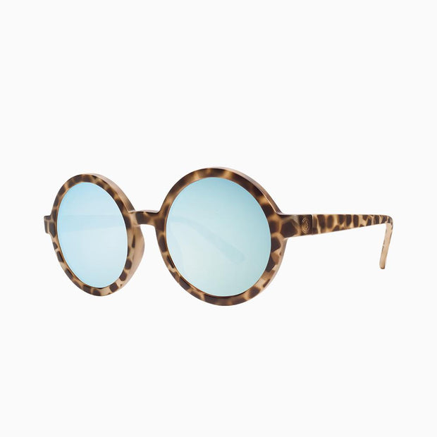 Electric Sunglasses Lunar Nude Tort/Sky Blue Chrome