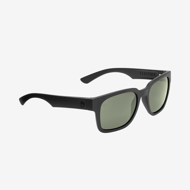 Electric Sunglasses Zombie Polarized Matte Black/Polarized Grey