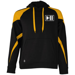[K4SH] Pullover Hoodie - Black/Light Gold / S - Sweatshirts