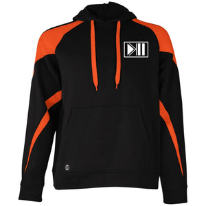 [K4SH] Pullover Hoodie - Black/Orange / S - Sweatshirts
