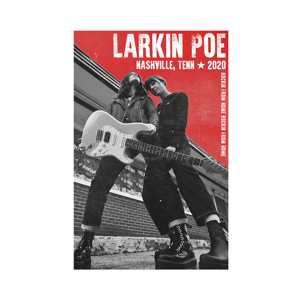 Larkin Poe Limited Edition Live Stream Poster