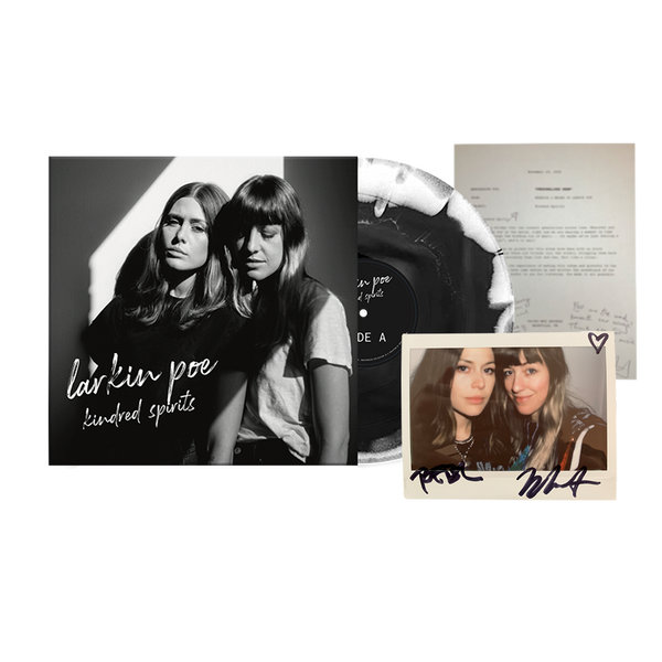 Kindred Spirits Limited Edition Signed Vinyl, Polaroid and Letter Bundle