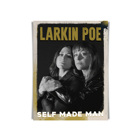 SELF MADE MAN SIGNED POSTER