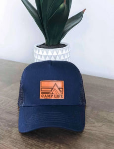 Camp Life Trucker Hat - Blue