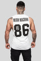 Mean Machine 86 Logo Muscle Tee