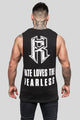 Fate Loves the Fearless Logo Muscle Tee