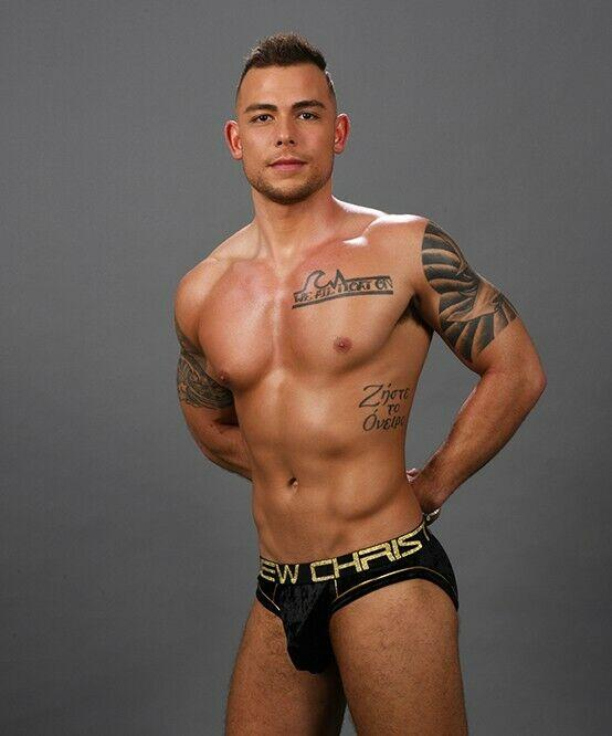 Andrew Christian XS Andrew Christian Briefs Midnight Casual Brief Velvet Fabric Black 91284 10