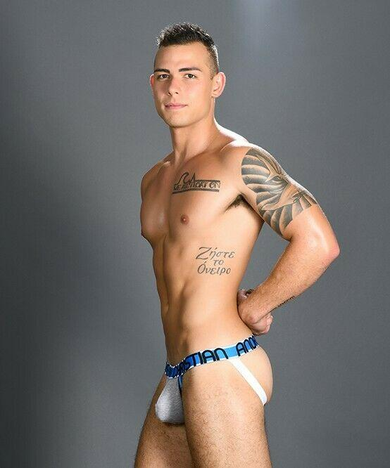 Andrew Christian Jockstrap CoolFlex Active Sexy Jocks Show-it Grey 91000 16