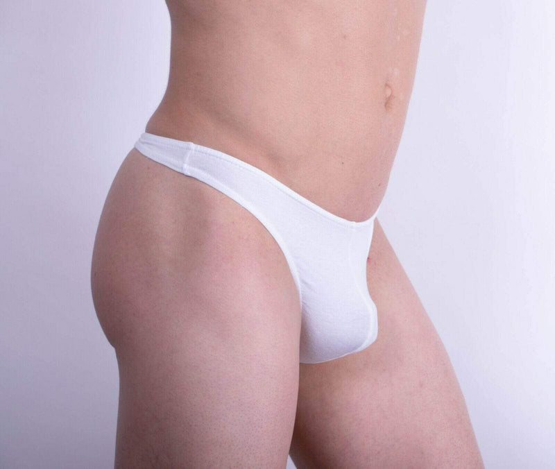 Doreanse M DOREANSE Cotton Modal Mens Thongs  Underwear For Men WHITE 1280 3