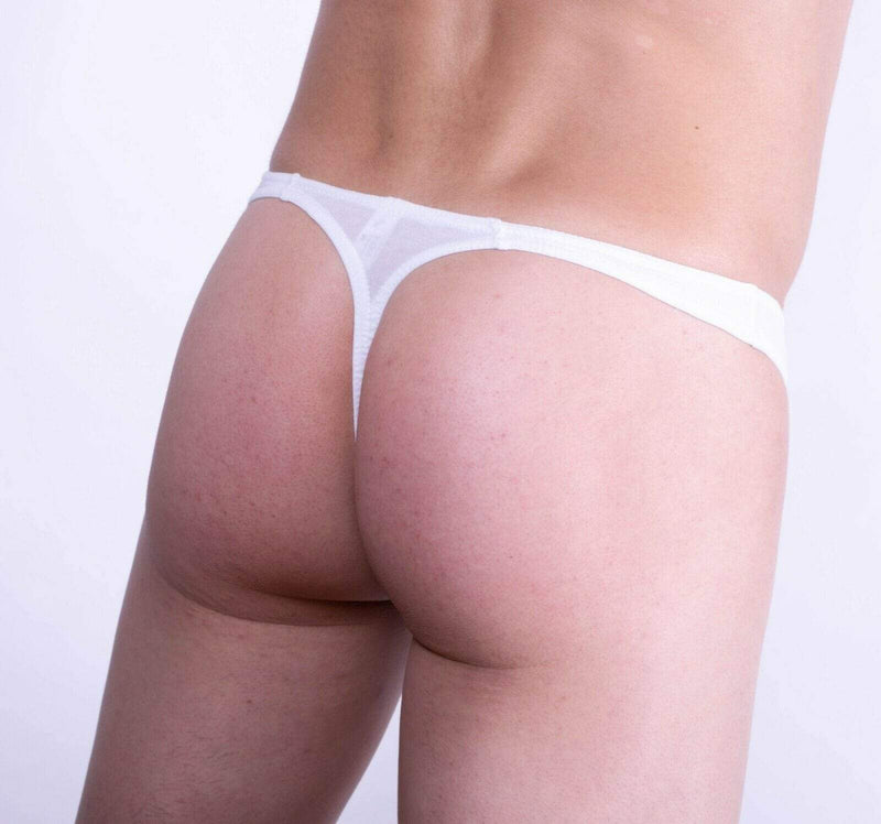 Doreanse DOREANSE Cotton Modal Mens Thongs  Underwear For Men WHITE 1280 3