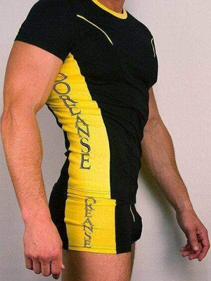 Doreanse Doreanse Kits T-Shirt XXL + Boxer XL Black And Yellow 2559/1599