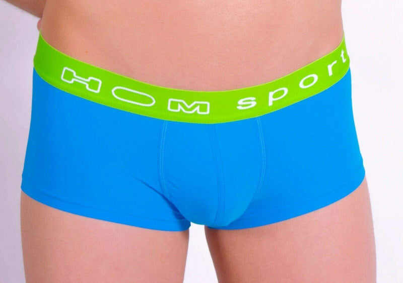 HOM HOM Sports Boxer Snow Hipster Pour Homme Blue LARGE 1