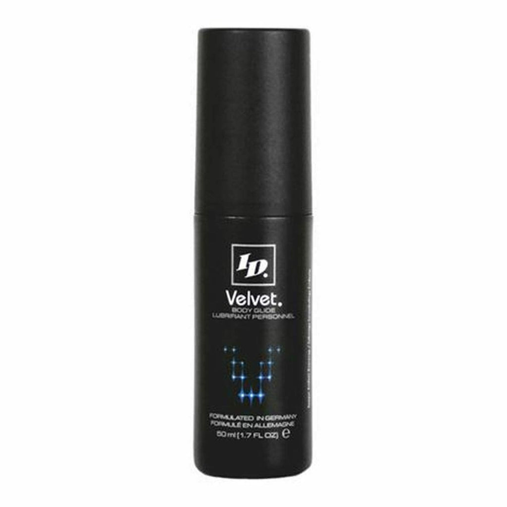 ID Lubricants ID Velvet Lubricant Body Glide Latex Friendly Silicone Based  50Ml/1.7oz