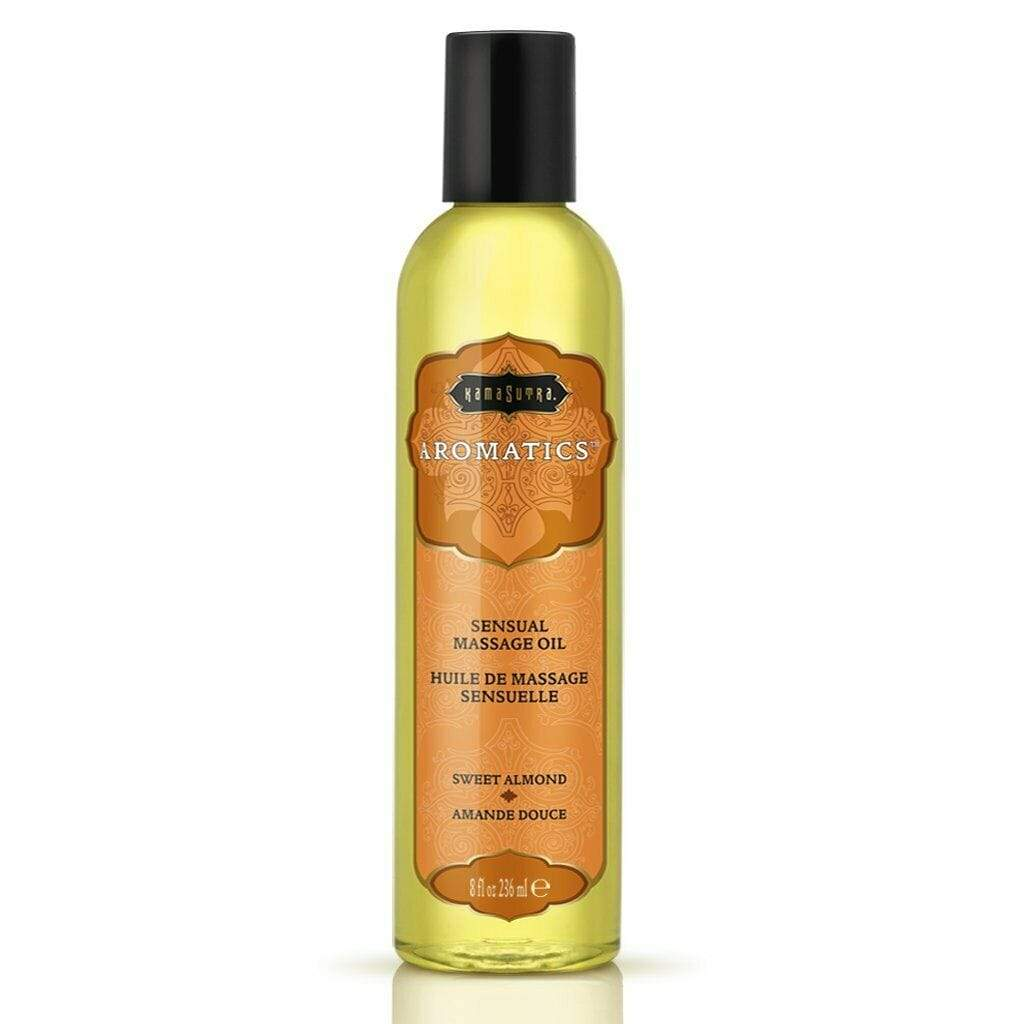 Kamasutra KamaSutra Aromatics Sensual Massage Oil Sweet Almond 8Oz 236Ml