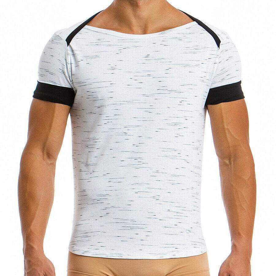 Modus Vivendi Modus Vivendi T-Shirt Jersey Mesure Chandail Quality Cotton  Black 07842 51