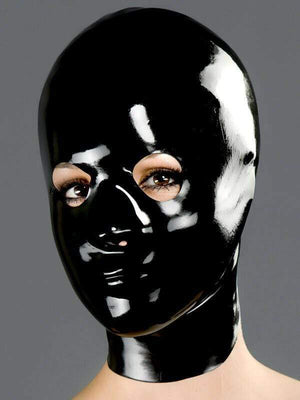 Polymorphe M Latex Mask Eyes And Nose Rubber Mask Polymorphe Latex Mask With Back Zip A-02
