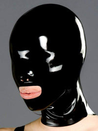 Polymorphe S Latex Mask Nose And Mouth Rubber Mask Polymorphe Latex Mask With Back Zip A-03