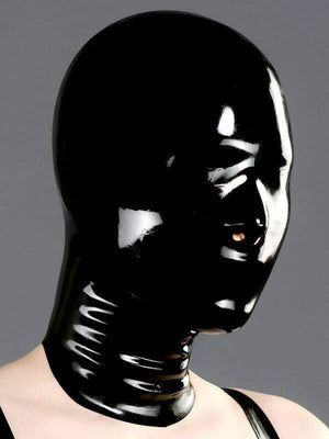 Polymorphe S Latex Mask Nose Only Rubber Mask Polymorphe Fetish Latex Mask With Back Zip A-04
