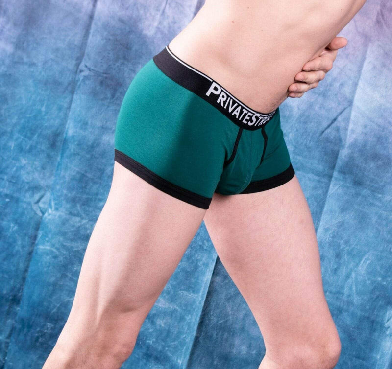 Private Structure Private Structure Boxer Briefs Quantum Trunk Olive 3612 8