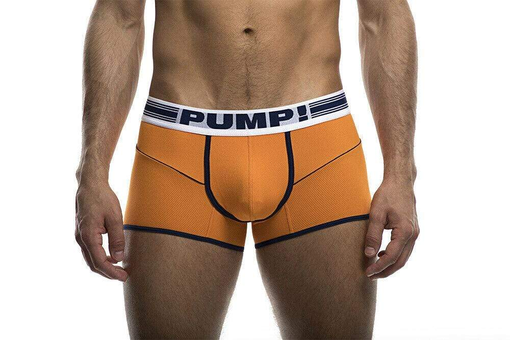 PUMP! S PUMP! Boxer Varsity Free Fit Sports Boxer Micro Mesh Orange 11075 42