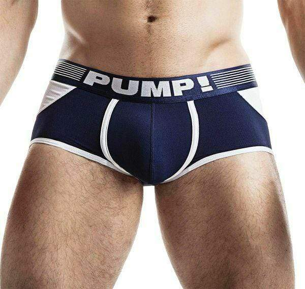 PUMP! S PUMP! Jock/Trunk Acces BottomLess Boxer Jockstrap BackLess Navy 15031 47