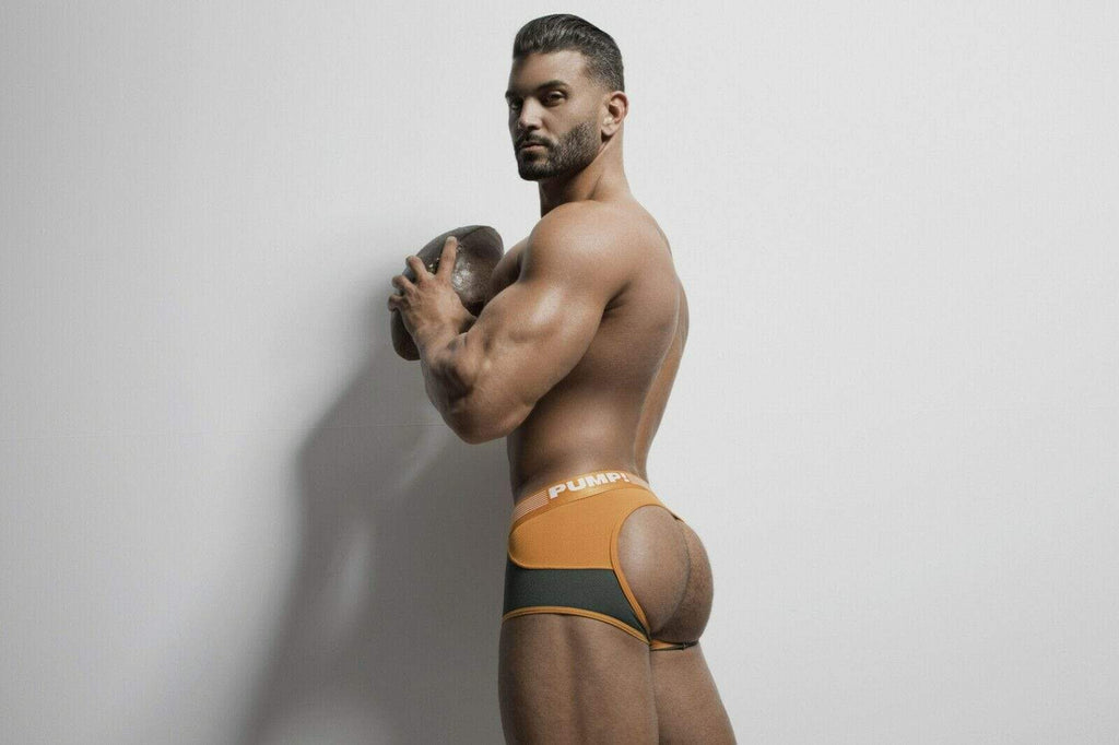 PUMP! S PUMP! Jock/Trunk Squad Acces BottomLess Boxer BackLess 15039 23