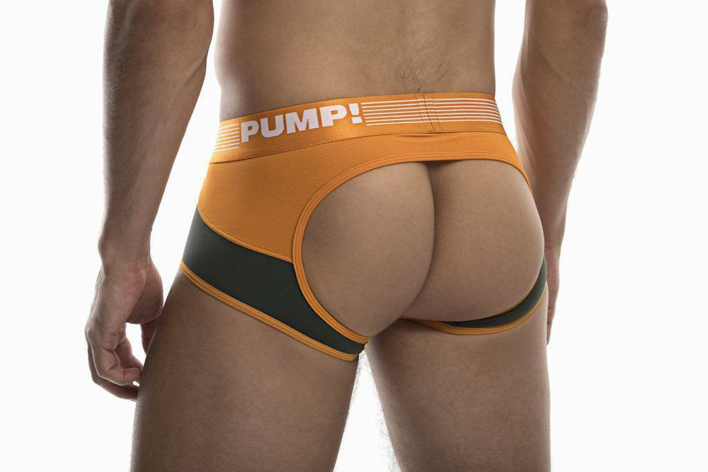 PUMP! PUMP! Jock/Trunk Squad Acces BottomLess Boxer BackLess 15039 23