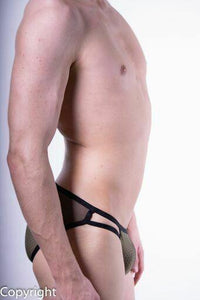 SexyMenUnderwear.com Clever Brief Boias Low Rise Herren-Slips Green 5443 16