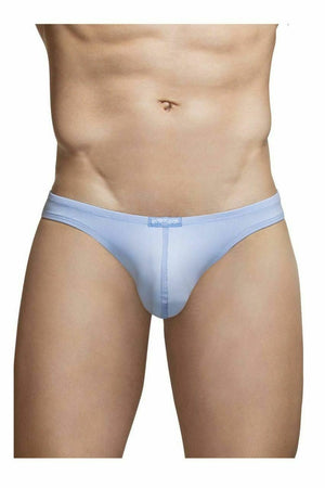 SexyMenUnderwear.com ErgoWear Soft Briefs X4D Bikini Brief Quick-Dry Sleek Light Cerulean 0970 15