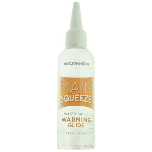 SexyMenUnderwear.com Lubrifiant DOC Johnson Main Squeeze Water-Based Warming Lubricant in 3.4o